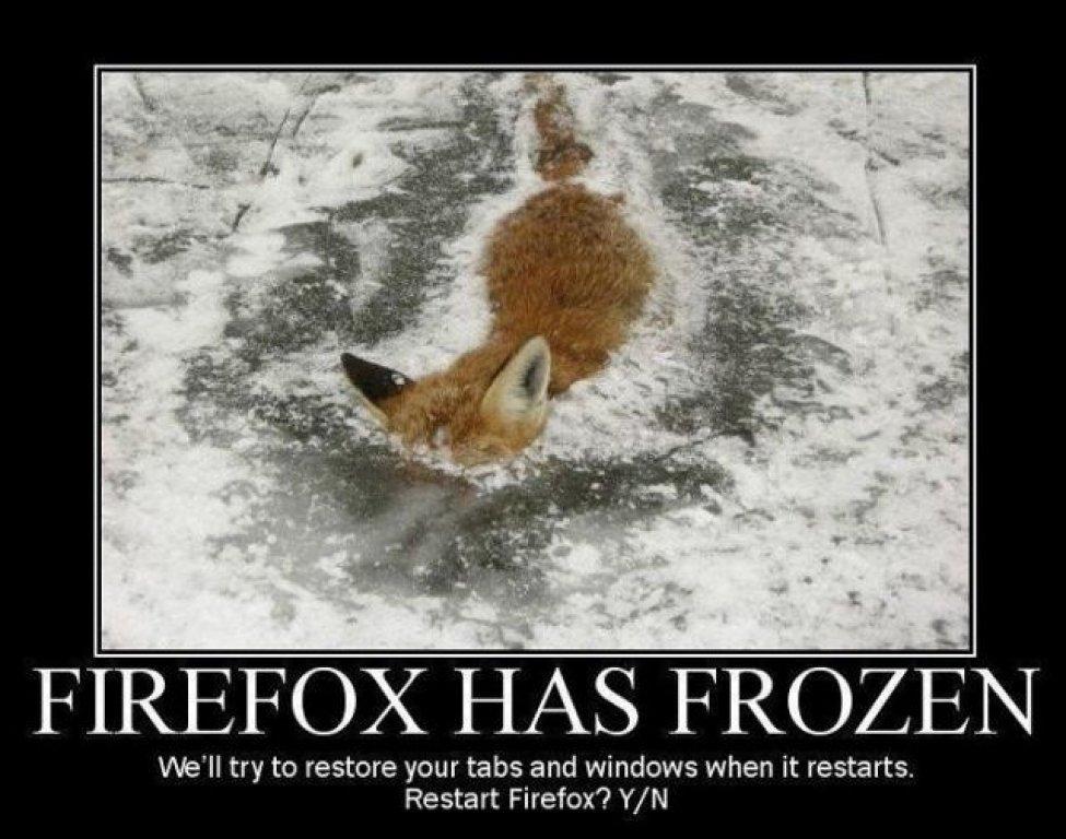 Firefox frozen ?