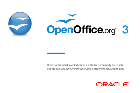 OpenOfficeOrg 3.2.1 Splashscreen