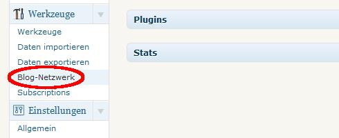 Wordpress 3.0 - Blog-Netzwerk aktivieren