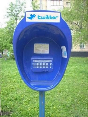 Twitter-Telefonzelle