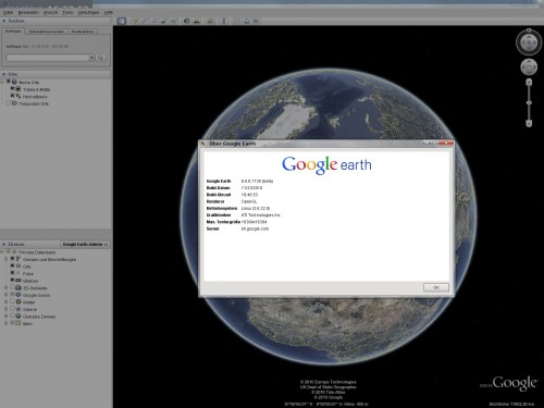 Google Earth 6.0 Ubuntu