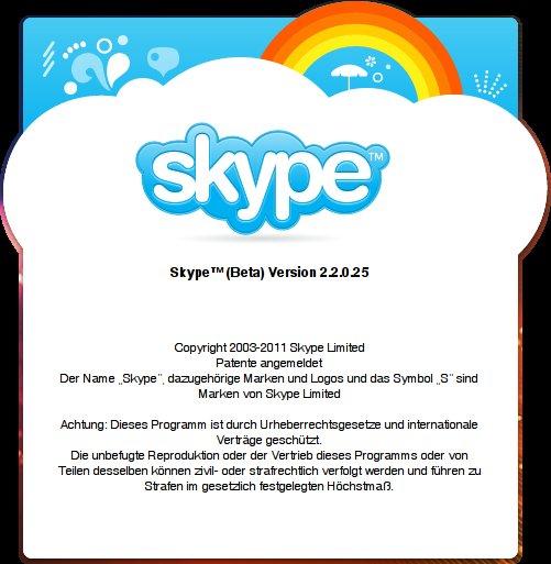 Skype 2.2.0.25 für Linux